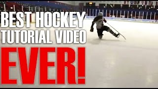 Best Ice Hockey Tutorial Video Ever!