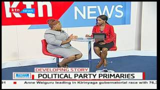 Advocate Joy Brenda Masinde speaking of what the law dictates of the party primaries pt 2