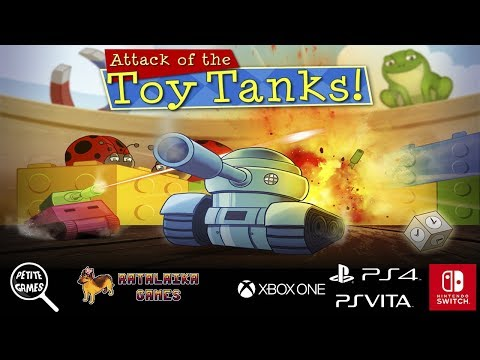 Attack of the Toy Tanks - Launch Trailer thumbnail