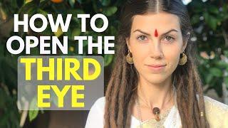 How to Open Your Third Eye 👁 (Methods I Personally Used for Full Third Eye Awakening)