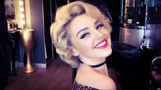 Authentic Marilyn Monroe Wet Roller Hair Set