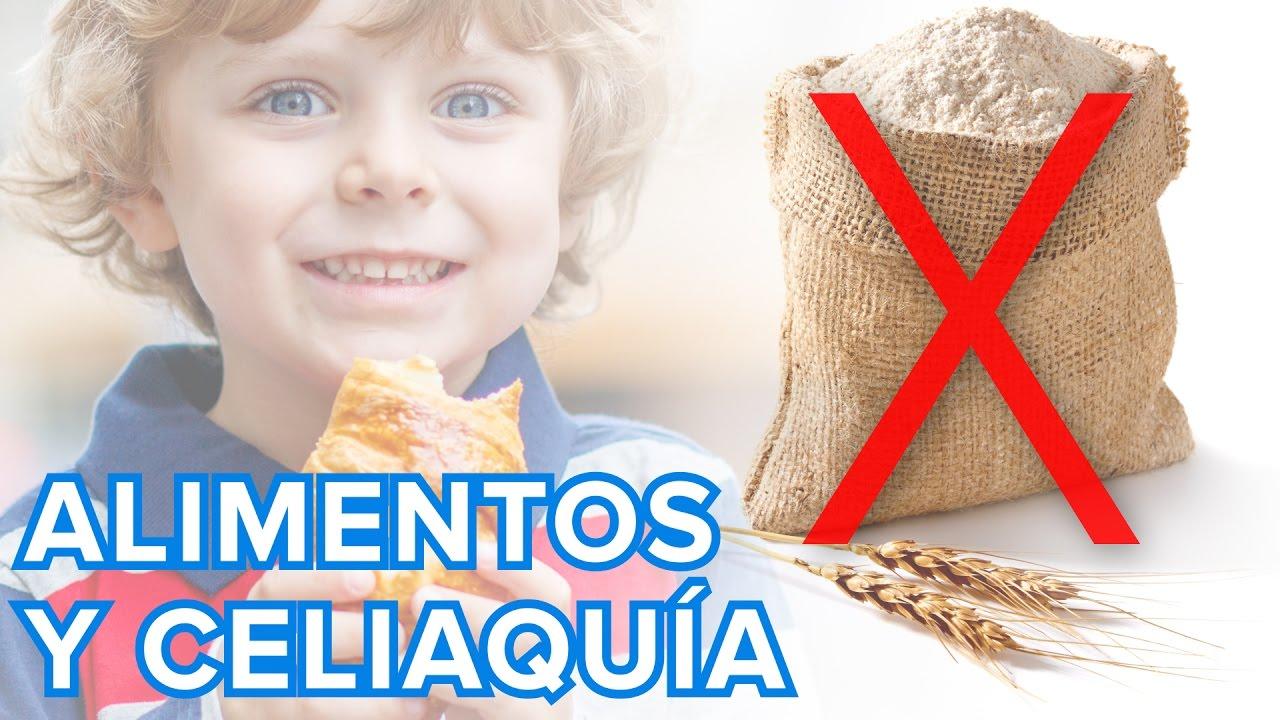 Alimentos prohibidos para niños celíacos