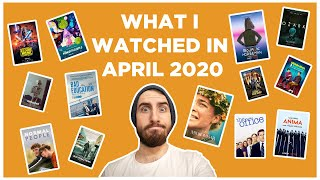 What I watched in April 2020