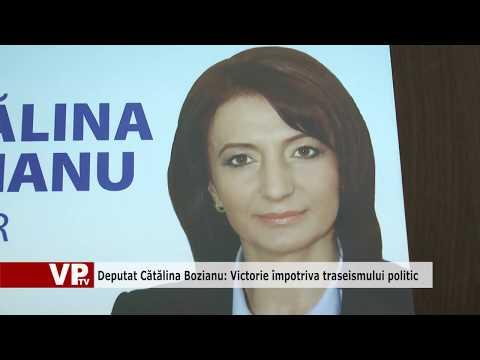 Deputat Cătălina Bozianu: Victorie împotriva traseismului politic