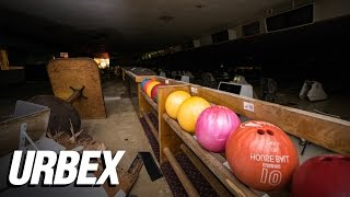 Exploring an Abandoned Bowling Alley