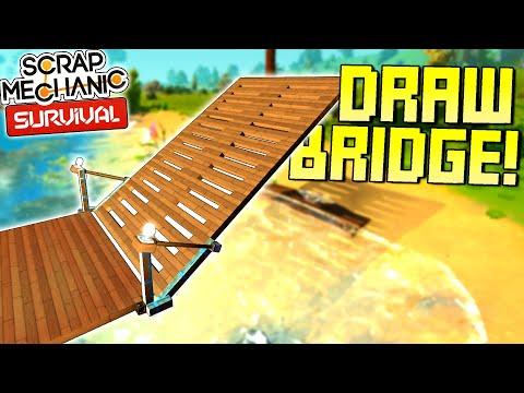Piston Drawbridge Protects My Base! + Other Improvements! - SM Survival Mode [SMS 27]
