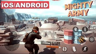Mighty Army: World War 2 - iOS / Android Gameplay