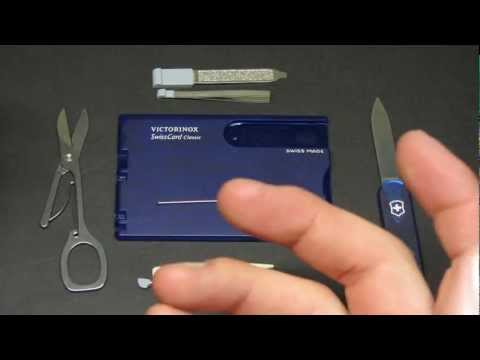 Victorinox SwissCard Classic Multi-Tool Review