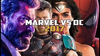 MARVEL VS DC. ИТОГИ 2017 ГОДА. DC СОСНУЛИ У MARVEL!