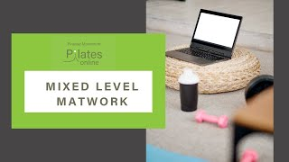 Mixed Level Matwork Ep1with Eleanor | On-Demand Pilates Classes | Finesse Maynooth | Online Pilates