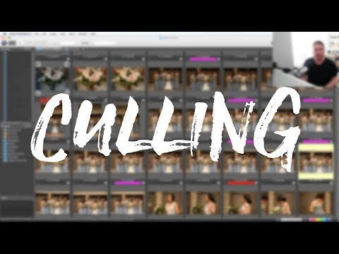 Wedding Photography - Culling/Selecting Images (The Fastest Way)
