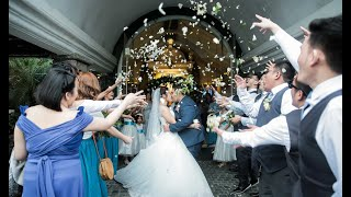 { Christian + Charlotte } Wedding SDE Video at B Hotel and Parish of the Hearts of Jesus and Mary