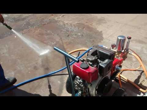 Lavadora a diesel JM