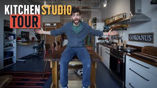 I built my dream kitchen studio completely from scratch 🛠️