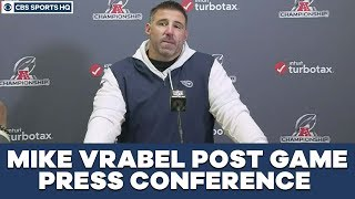 Mike Vrabel Post Game Press Conference: AFC Championship | CBS Sports HQ