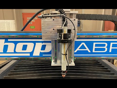 ShopSabre True Torch Collision Detection System for CNC Plasmavideo thumb