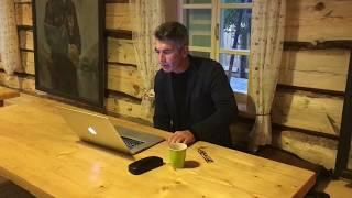 """Андрей Рубанов читает """"Финиста"""". Хутор Захара Прилепина."""