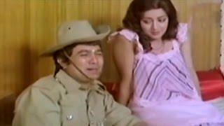 Hema Malini Teasing Rajesh Khanna @ Janta Hawaldar