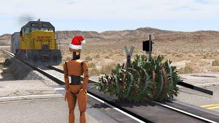 A Crash Test Dummy Christmas | BeamNG.drive