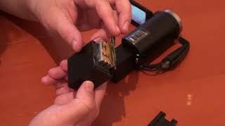 Набор видеоблогера: камера, батареи, SD карта, сумка