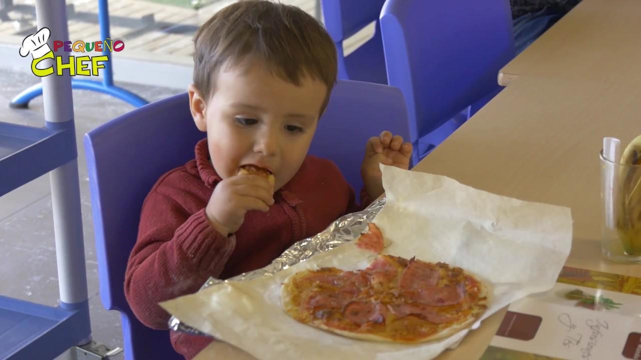 Como preparar pizza con los peques