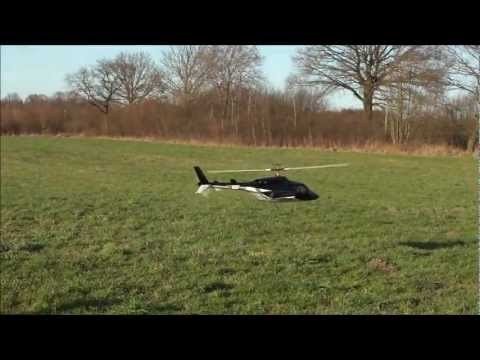 Vario elektro Airwolf / Sky Fox Elektro Umbau  / electric Airwolf / Hubschrauber RC Heli