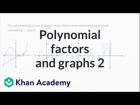 Polynomial factors and graphs — Harder example (video