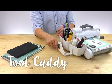 How to Use the Sizzix Tool Caddy