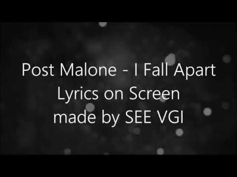 Post Malone - I Fall Apart (Lyrics)