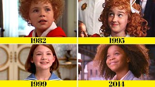 "Comparing"" Annie Movie Songs"": Tomorrow"" 1982 | 1995 | 1999 | 2014"