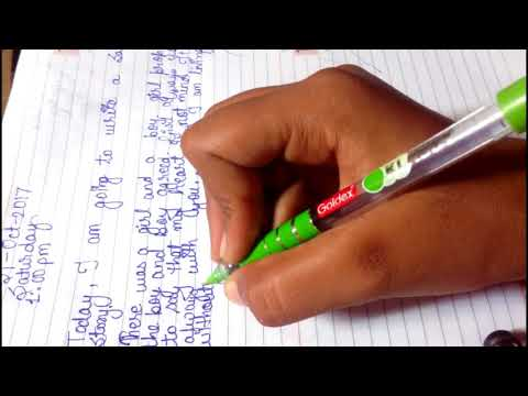 How To Write A Personal Diary Mp3