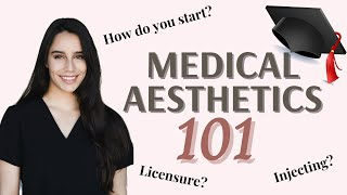 How to Get Into Medical Aesthetics! [Step-by-Step]