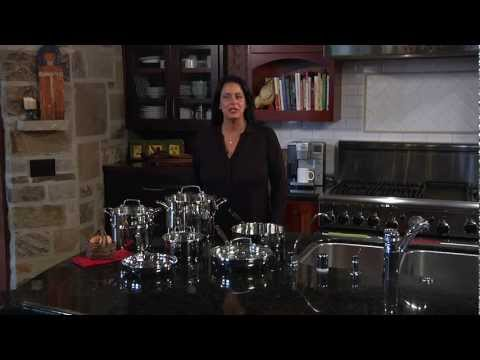 Cuisinart 11-piece Chef's Classic Stainless Steel Cookware Set (77-11G) Demo Video