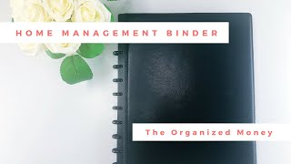 How To Create A Home Management System #homemanagement #homeorganization #adulting101