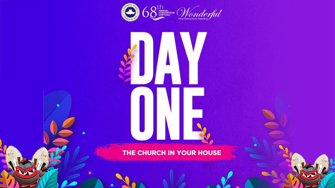 RCCG Holy Ghost Convention 2020 3rd August - Day 1 House Fellowship, RCCG Holy Ghost Convention 2020 3rd August – Day 1 House Fellowship