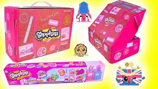 Surprise Luggage + Shopkins Blind Bag 20 Pack ! Exclusive Direct Toy Box