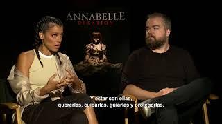 ANNABELLE: LA CREACIÓN - Entrevista D. Sandberg y S. Sigman - Oficial Warner Bros. Pictures