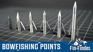 Fin-Finder Bowfishing Points & Wrecking Level Chart