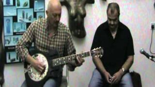 As the crow flies,  Tony Joe White by Johnny and Trevor carbon fibre resonator