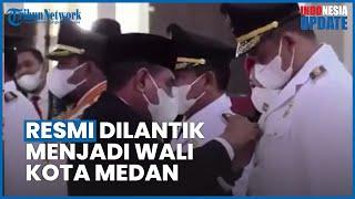 Bobby Nasution Resmi Dilantik menjadi Walikota Medan, Kahiyang Ayu Jadi Ketua TP PKK Medan