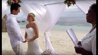 Seychelles Wedding Photographer - Beach Wedding In Seychelles - Anse Source D´Argent, La Digue