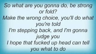 Judge - In My Way Lyrics