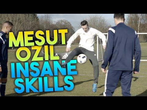 MESUT ÖZIL INSANE SKILLS!!! | F2Freestylers