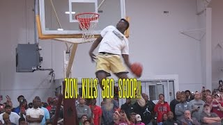 Zion Williamson KILLS 360 SCOOP!! His 47 Points Shuts Down Real Deal In The Rock!