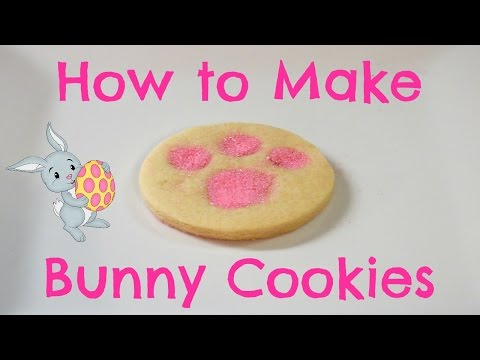 How to Make Bunny Cookies for Easter!