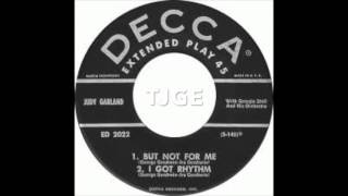 JUDY GARLAND But Not For Me & I Got Rhythm original Decca singles