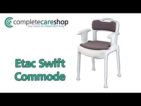 Etac Swift Commode - Transforms Quickly And Easily