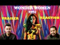 WONDER WOMAN  1984 |  BANGLA TRAILER REACTION !!!