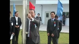 Lễ kéo quốc kỳ Việt Nam - Nhật Bản