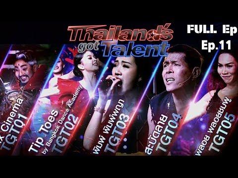 THAILAND'S GOT TALENT 2018 | EP.11 Semi-Final | 15 ต.ค. 61 Full Episode